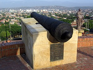 Cúcuta - Monument to the Battle of Cúcuta. March, 2007