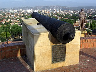 Battle of Cúcuta - Image: Battle of Cúcuta (canon)