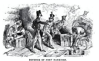 Siege of Fort Harrison - Image: Battle of Fort Harrison
