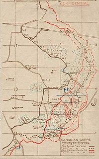 Battle of Mont Sorrel conflict of World War I
