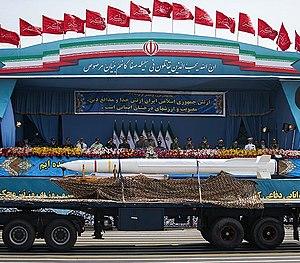 Bavar 373 - Image: Bavar Missile by Tasnimnews