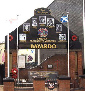 Bayardo Bar attack 1975 terrorist attack in Belfast, Northern Ireland
