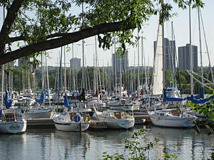 Geography of Hamilton, Ontario - Bayfront Park