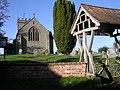 Bayton Church and lychgate - geograph.org.uk - 280509.jpg