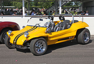 Dune buggy - The Meyers Manx, a popular dune buggy