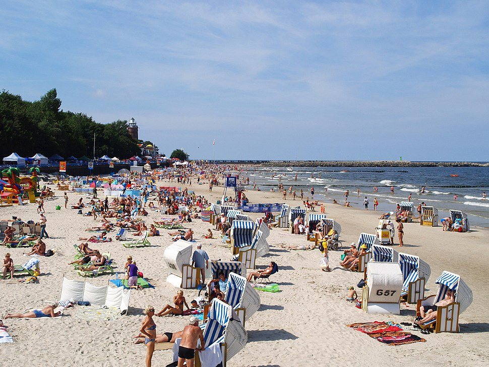 Beach in Kołobrzeg 1