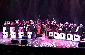 Beantown Swing Orchestra - Beantown Swing Orchestra at Foxwoods' Fox Theatre in 2010