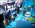 Beatles guitar, bass & drums, Museum of Making Music.jpg