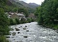 Beddgelert - The Afon Glaslyn - geograph.org.uk - 1730487.jpg