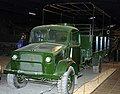 Bedford OX truck, Land Warfare Hall, Imperial War Museum, Duxford. (Edited (22846582488).jpg