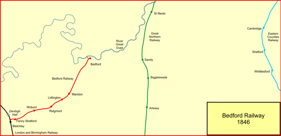 Bedford rly 1846