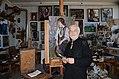 Belarusian painter Georgy Poplavsky 12.03.2014.JPG