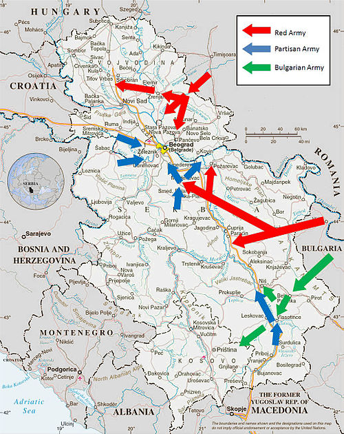 Map of the offensive. Belgrade Offensive Map.JPG