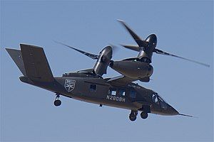 Bell V-280 Valor takeoff demo, 2019 Alliance Air Show, Fort Worth, TX.jpg