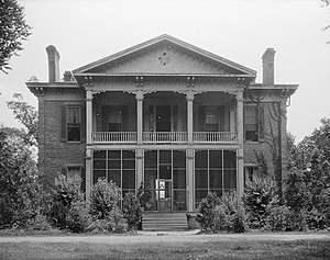 National Register of Historic Places listings in Washington County, Mississippi - Image: Belmont near Wayside