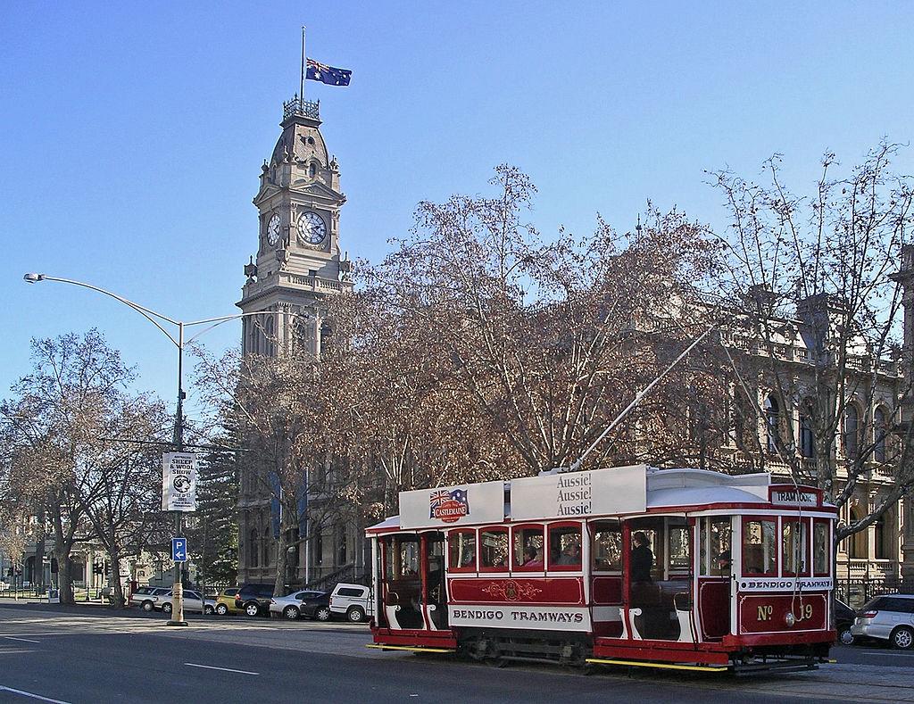Bendigo talking tram