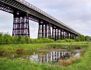 Bennerley Viaduct Railway viaduct spanning the Erewash Valley