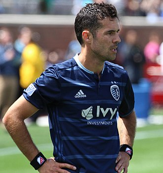 Benny Feilhaber - Feilhaber playing with Sporting Kansas City in 2017