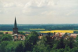 Panorama towards Stralsund (SW)