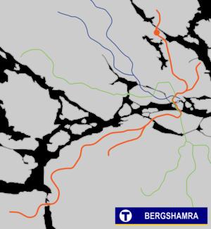 Bergshamra metro station