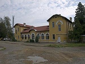 Berkovitsa Municipality - Berkovitsa railway station