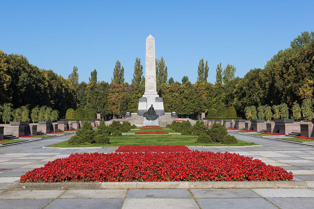 Russische militaire begraafplaats in Schönholzer Heide