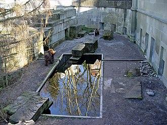 Bärengraben - Partial view of Bärengraben in modern times