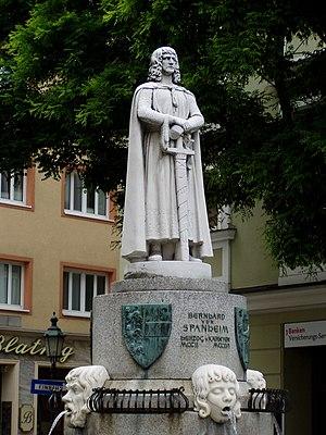 Bernhard von Spanheim Brunnen Klgft