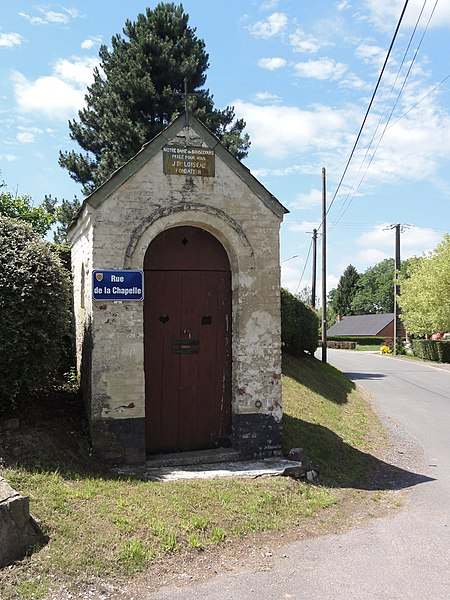 Bersillies (Nord, Fr) chapelle N.D. de Bon Secours, rue de la Chapelle.
