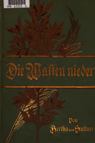 File:Bertha von Suttner – Die Waffen nieder! (Band 2).djvu