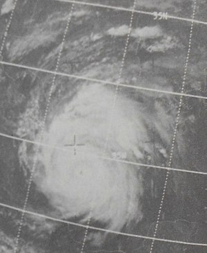 1967 Atlantic hurricane season - Image: Beulah Sep 1919671919z