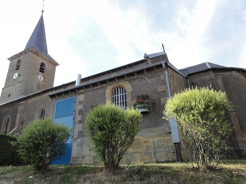 Beuveille (Meurthe-et-M.) église
