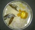 Bhagara rice with egg pulusu.png