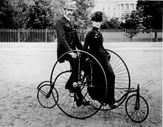 Quadracycle - Image: Bicycle two 1886