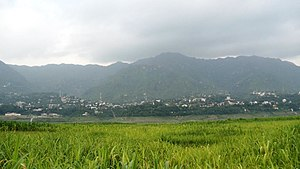Bilaspur, Himachal Pradesh - Panoramic view of Bilaspur city of Bilaspur District Himachal Pradesh, India