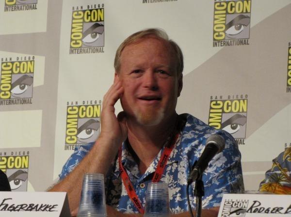 Bill Fagerbakke on Comic-Con panel (2009)