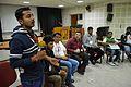Biplab Anand - Open Discussion - Collaboration among Indic Language Communities - Bengali Wikipedia 10th Anniversary Celebration - Jadavpur University - Kolkata 2015-01-10 3138.JPG
