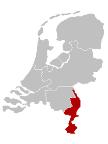 Location of the Diocese of Roermond