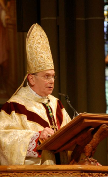 Bishop Roger Foys preaches at an ordination.png