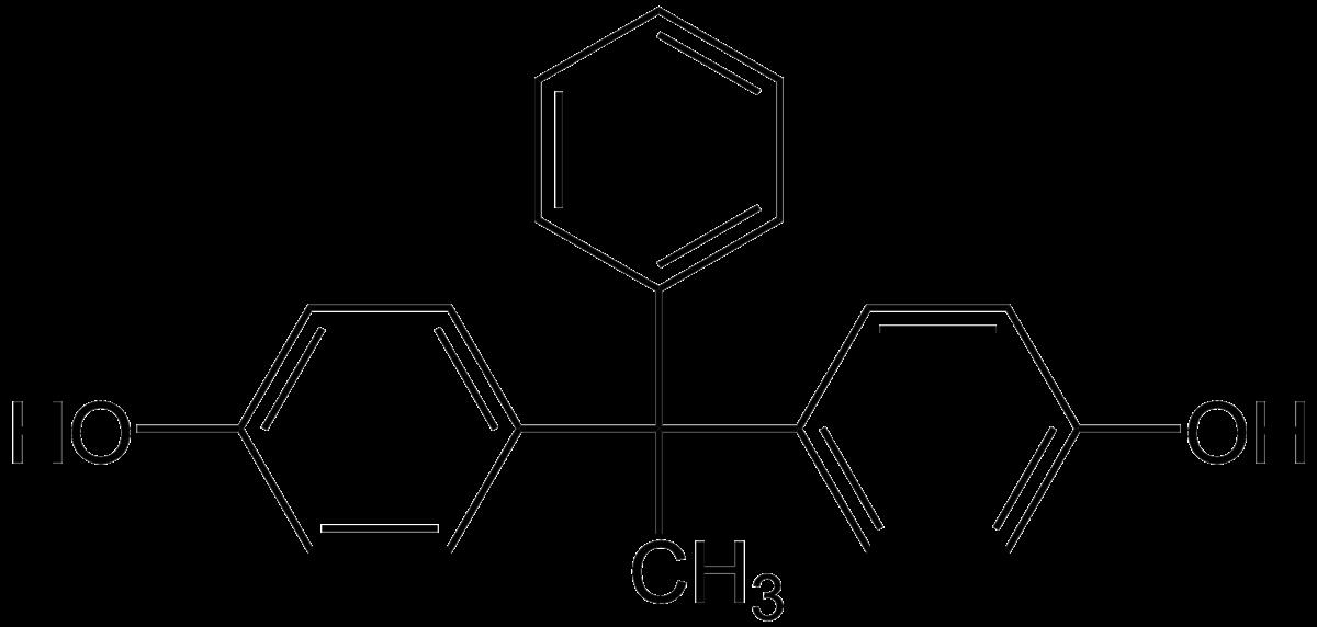 Butanone structural formula