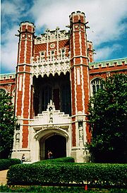 Bizzell Library sits at the heart of the university's Norman campus.