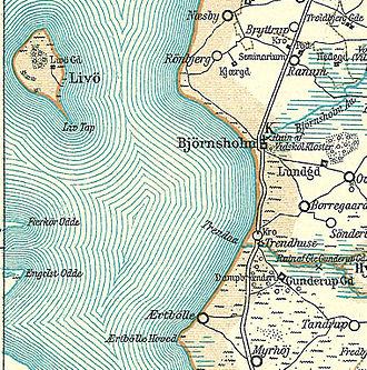 Bjørnsholm Bay - Bjørnsholm Bay around 1900