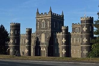 Grade I listed buildings in Bristol - Image: Black Castle, Bristol, from west