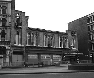 Blackfriars station - The exterior of the station in 1977