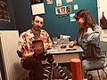Blaise Bersinger et Donatienne Amann dans leur cuisine.jpg