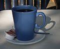 Blauer Becher Kaffee 2011.JPG