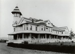 Henry Miller (rancher) - Bloomfield, the home of Henry Miller, completed in 1887