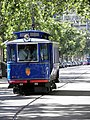 Blue Tram at Barcelona - panoramio.jpg