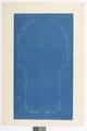 Blueprint av gården, Hallwylska palatset - Hallwylska museet - 101038.tif