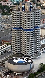 مقر شركة بي ام دبيلو في المانيا